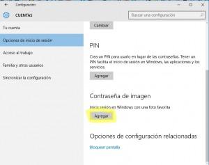 imagen contraseña windows 10