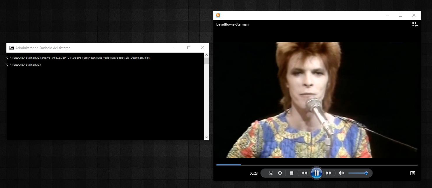 comando abrir video desde terminal