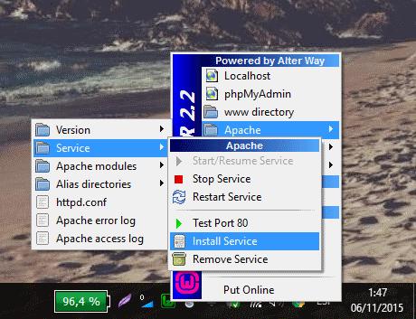 solucion wamp en Windows 10