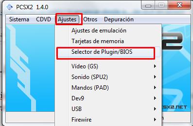 arrancar juego desde dvd emulador pcsx2
