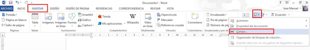 contador de palabras en Word