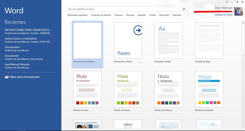 Desactivar pantalla de Inicio de Office 2013 – PC-Solución