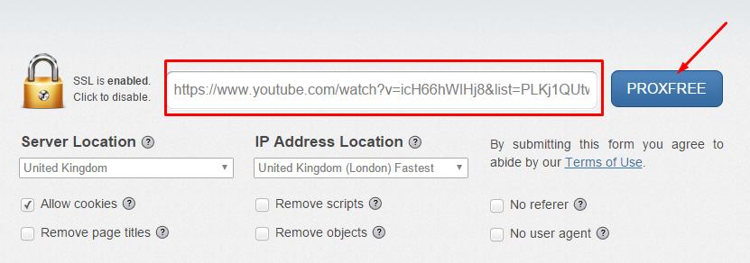 ver videos youtube bloqueados en mi país