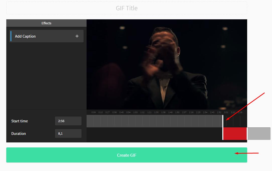 convertir video de youtube a gif