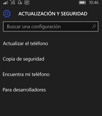 activar encontrar mi teléfono windows 10