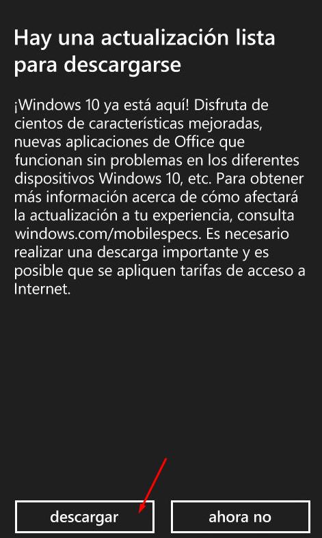 actualizar windows 8.1 a 10