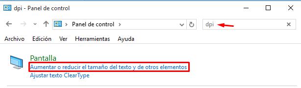 ver iconos mas grandes en Windows 10