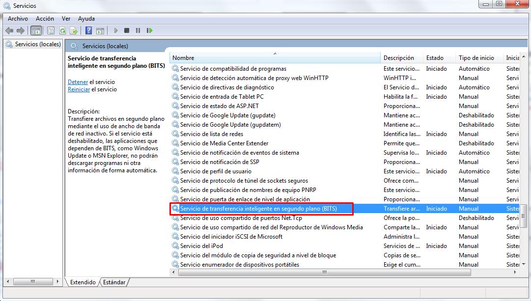 cómo solucionar error 80244019 windows 7