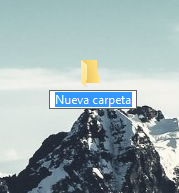cambiar nombre por defecto de nueva carpeta