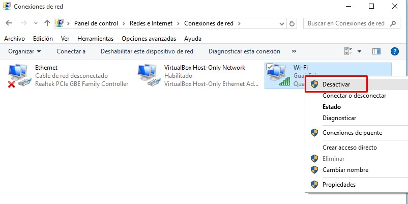 restablecer uso de datos windows 10