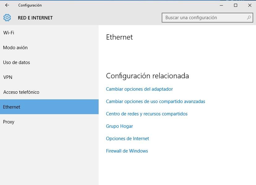 crear acceso directo a configuración de windows 10