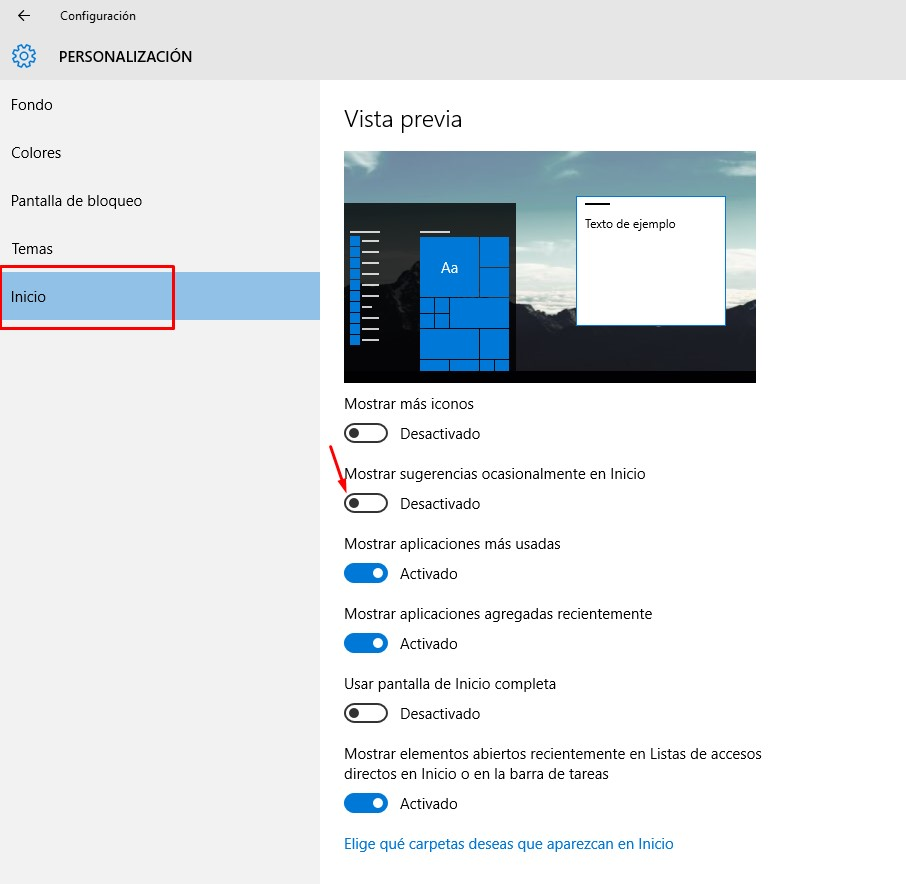 desactivar-sugerencias-windows-10