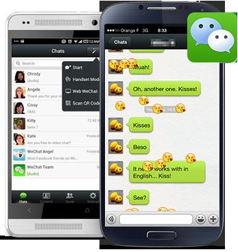 wechar-mensajeria-android