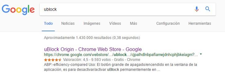 instalar ublock-chrome