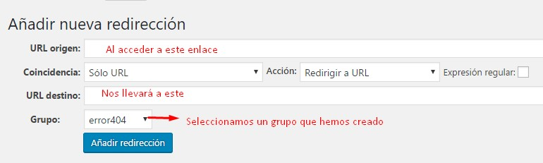 redireccionar-wordpress