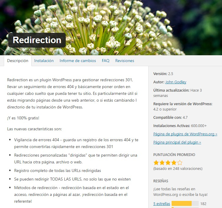 redirection-plugin-redirecciones-301