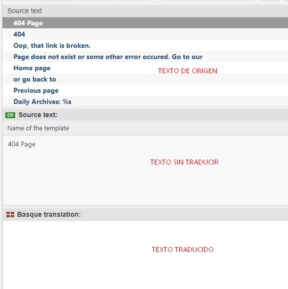 Traducir un tema o plugin de Wordpres