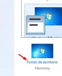 Fondo de pantalla windows 7 no cambia