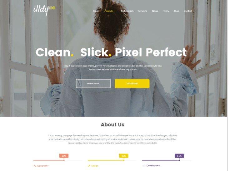 Cambiar tamaño logo en el tema Illdy de WordPress – Pc Solucion