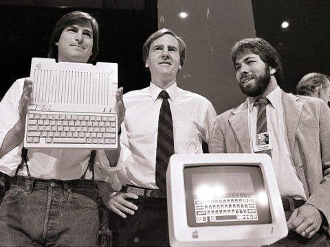 los fundadores de apple