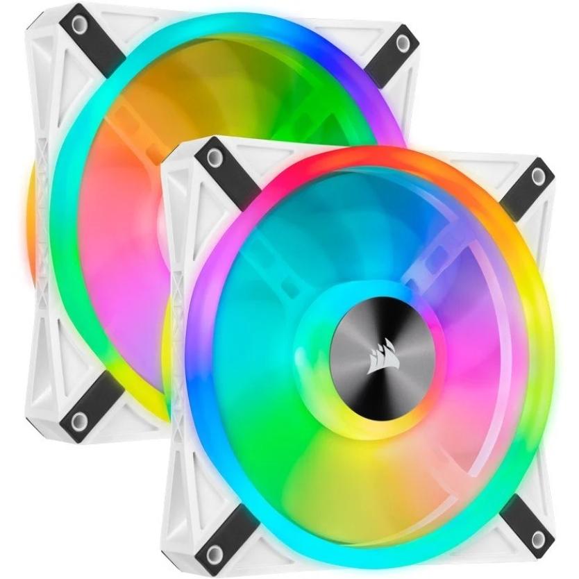 Pack Corsair iCUE QL140 RGB con Lighting Node Core
